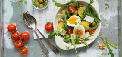 Salat Nicoise – vegetaroppskrift