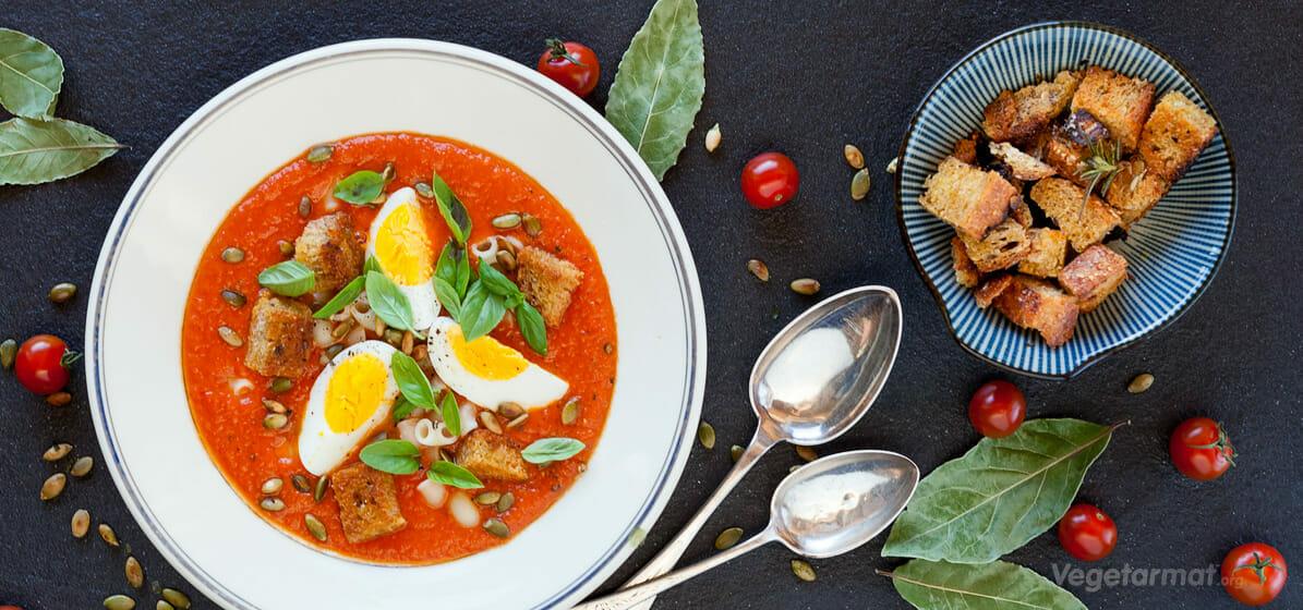 Spansk tomatsuppe