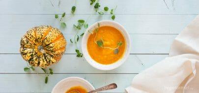 Gresskarsuppe – vegetaroppskrift