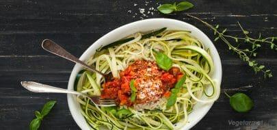 Squash Bolognese – vegetaroppskrift