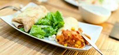 Vegetarburritos – vegetaroppskrift