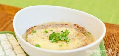 Fransk løksuppe – vegetaroppskrift