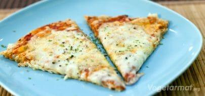 Trippel-ost pizza – vegetaroppskrift