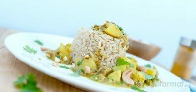 Linse-curry med sopp – vegetaroppskrift