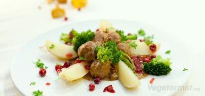 Middagsboller med kantareller – vegetaroppskrift