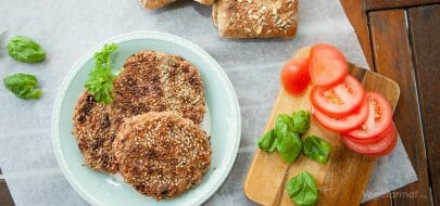 Nøtteburgere – vegetaroppskrift