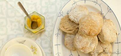 Raske scones – vegetaroppskrift