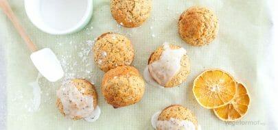 Muffins ala Poppy – vegetaroppskrift