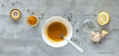 Honningbombe med ingefær og gurkemeie – vegetaroppskrift
