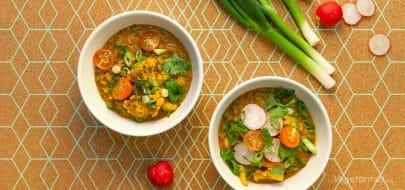 Curry med blomkål – vegetaroppskrift