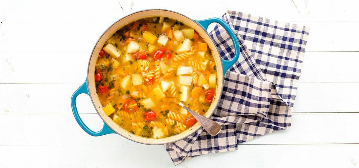 Fransk grønnsaksuppe