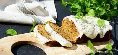 Poppy squashkake med sitron – vegetaroppskrift