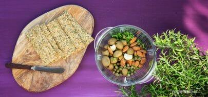 Oliventapenade – vegetaroppskrift