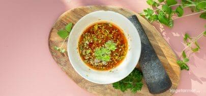 Chimichurri – vegetaroppskrift