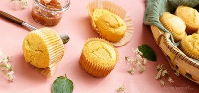 Cornbread Muffins – vegetaroppskrift