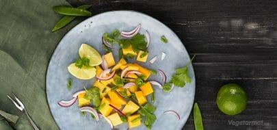 Pop mangosalat – vegetaroppskrift