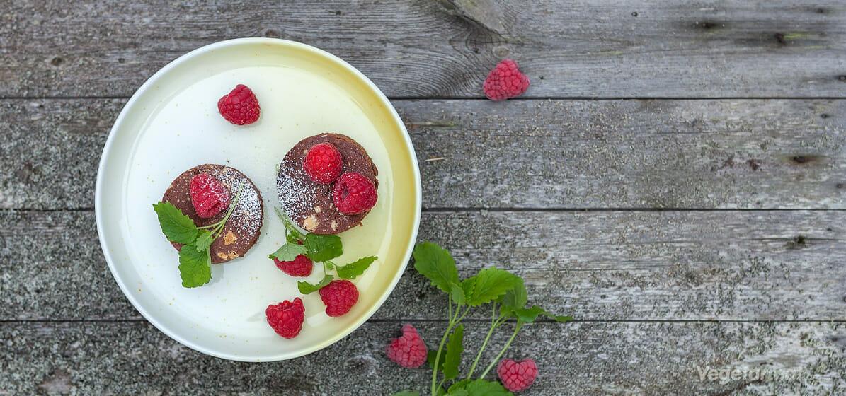 Brownie med hvit sjokolade