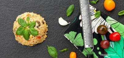 Risbolle med grønnsaker – vegetaroppskrift