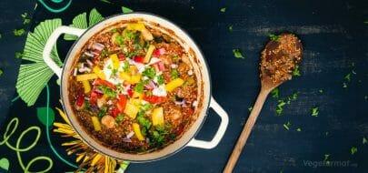 Chili con quinoa – vegetaroppskrift