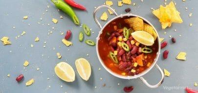 Chili sin carne – vegetaroppskrift